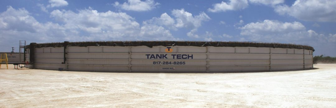 Tank Tech LLC, Industrial Fluid Tank (front view)