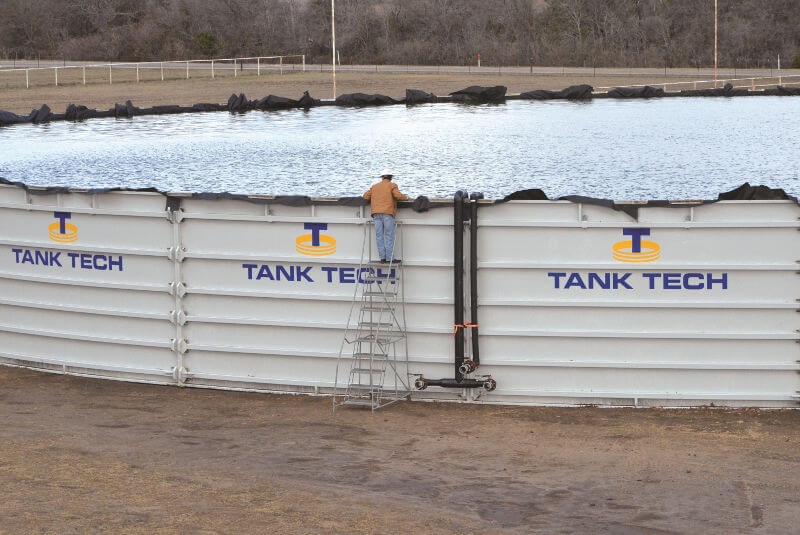 Tank Tech Industrial Water Storage Tanks Made In Texas